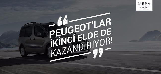 Peugeot'lar İkinci Elde De Kazandırıyor