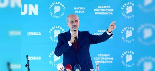 Bakan Kurtulmuş Kürt Devleti Ve Terör Koridoruna Tepki Gösterdi