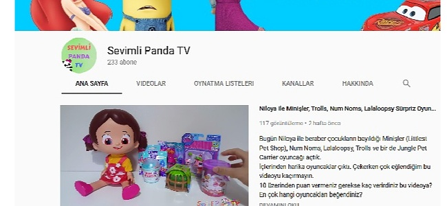 Sevimli Panda TV Videoları ile Renkleri Öğreniyoruz