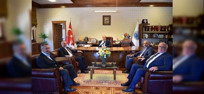 Taşköprü Belediyesi'ne Ak Parti'den Sürpriz Ziyaret