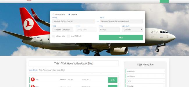 %10 İndirimli THY Uçak Biletleri Ucakbileti.com'da