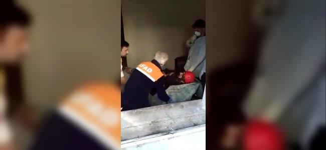 Edirne'de Aşırı Kilolu Vatandaşı Evinden AFAD Çıkardı