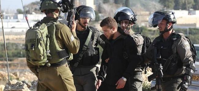 İsrail Polisi 30 Filistinliyi Çeşitli Sebeplerle Gözaltına Aldı