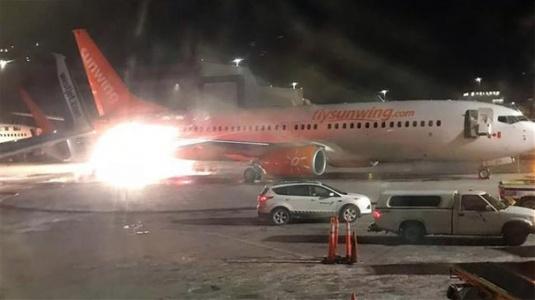 Kanada'da Uçak Kazası Meydana Geldi
