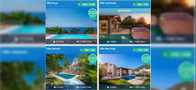 Muhafazakar Tatil Villa Seçenekleri