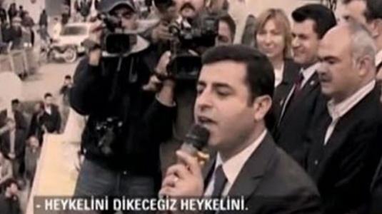 Apo'nun Heykelini Dikeceğiz Diyen Demirtaş: HDP,PKK Sözcüsü Değil