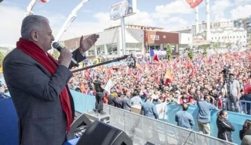 Başbakan'dan İnce'ye Sert Eleştiri: Siz Sadece Yıkmayı Bilirsiniz!
