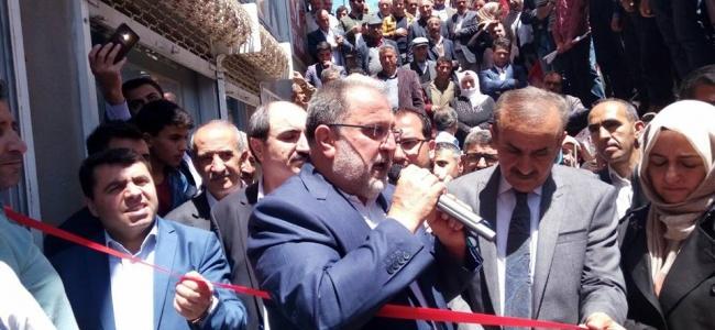 Ak Parti Özalp Seçim Bürosu Açıldı