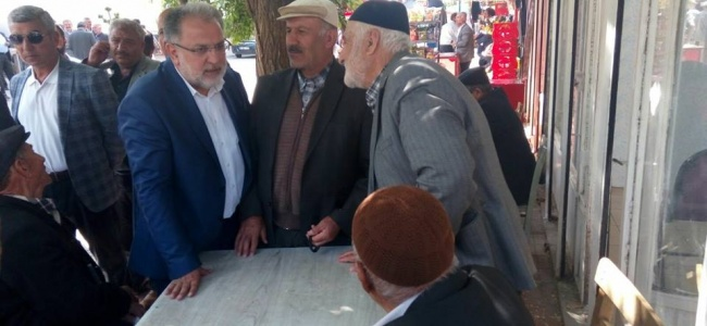 Osman Nuri Gülaçar'a Van Esnafından Yoğun İlgi