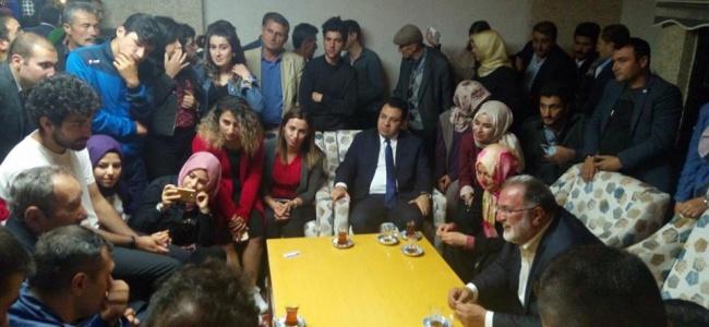 Osman Nuri Gülaçar İftar Sonrası Gençlerle Buluştu