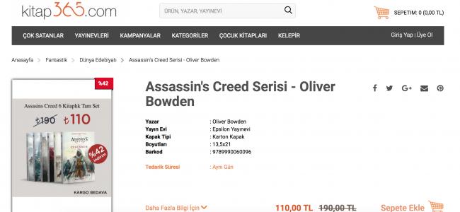 Assassin's Creed Kitap Ne Anlatıyor?