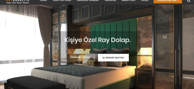 Kendinize Özel Yatak Odası, Raylı Dolap ve Giyinme Odası Tasarımları