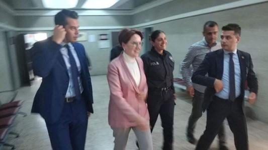 Meral Akşener Hakaret Davasında Sanık Sıfatıyla İfade Verdi!