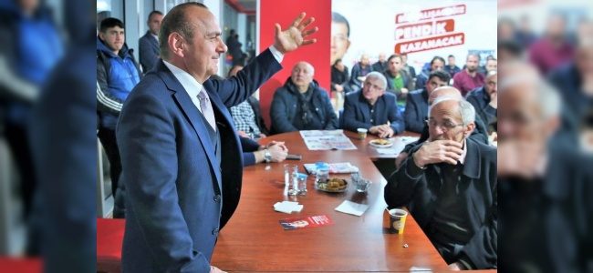 Yerel Seçimler Yaklaştıkça Pendik'te Heyecan Da Artıyor