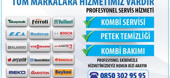 Kombi Bakımı, Tamiri ve Servisi İstanbul Firmaları