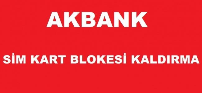 Akbank Sim Kart Değişikliği