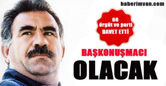 Abdullah Öcalan'a 60 Parti'den Davet