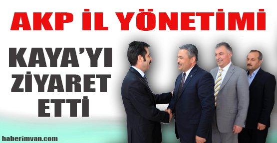 AKP İl Yönetimi, Kaya'yı ziyaret etti - Van Haberleri