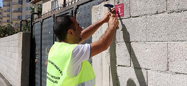Van Büyükşehir Belediyesi numaraj çalışması başlattı