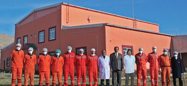 Türkiye'nin en büyük 2. Tıbbı Atık Temizleme Merkezi Van'da..