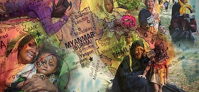 Arakan'da en az 3 bin Müslüman öldürüldü