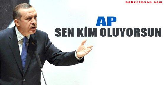 Avrupa Parlamentosu'nun Gezi kararını tanımam!