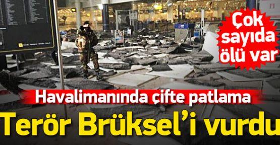 Avrupa'nın Kalbi Brüksel'de Bomba Patlattılar! Çok Sayıda Ölü Var