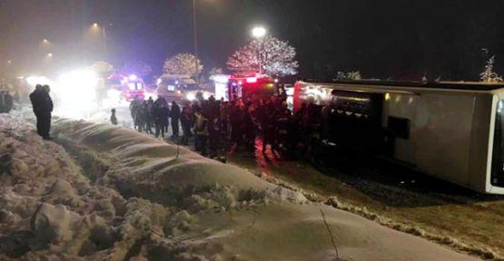 Bartın'da Feci Trafik Kazası: 2 ölü 6 yaralı