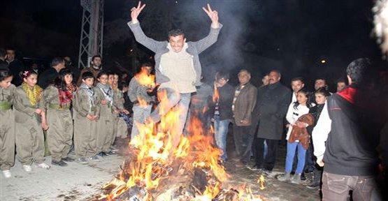 Başkale'de Newroz Kutlaması - Van Haberleri