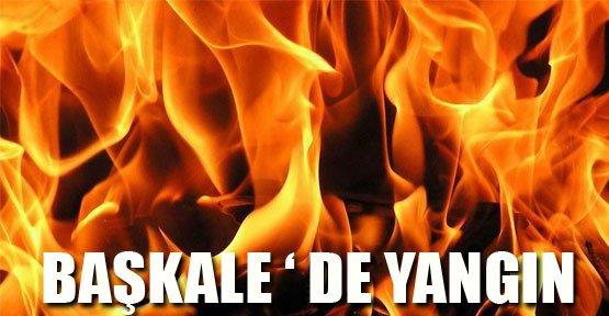 Başkale'de Yangın - Van Haberleri