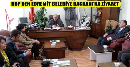 BDP'den Görevine Dönen Sayan'a Ziyaret