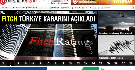 Bursa'da Yaşıyorsanız Sizde Doğru Haberciliği Keşfedin