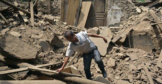 Çin'de Deprem: 48 Ölü