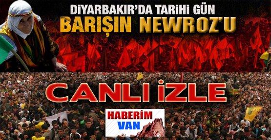Diyarbakır Newroz'u Canlı İzle
