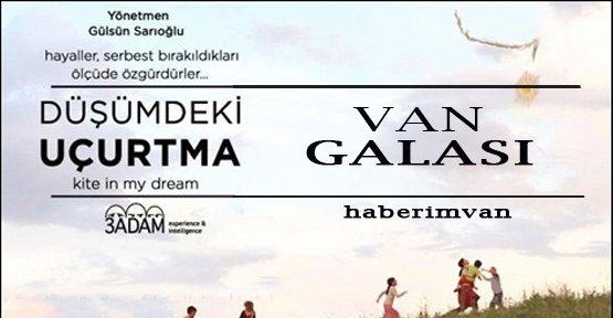 'Düşümdeki Uçurtma' Belgesel Filmi Van Galası