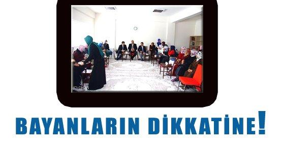 Erciş'te Bayanlar Toplum Merkezi'nde Buluşacak - Van Haberleri
