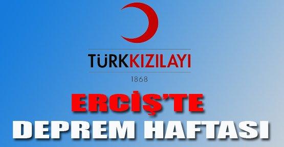 Erciş'te Deprem Haftası Etkinliği - Van Haberleri