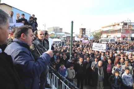 Erciş'te Kensel Dönüşüme Tepki - Van Haberleri