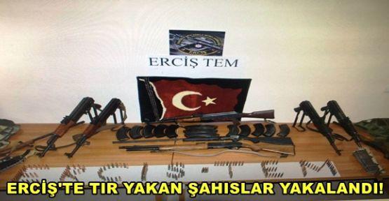 Erciş'te Tır'ları Yakaşn Şahıslar Yakalandı!