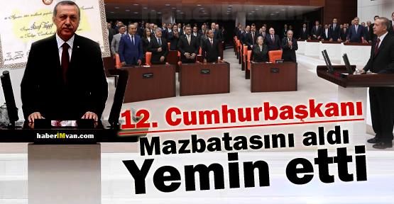 Erdoğan Cumhurbaşkanlığı Yemini Etti