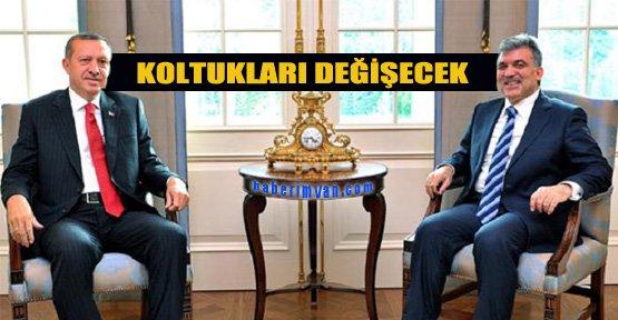 Erdoğan ve Gül Yer Değiştirecek!