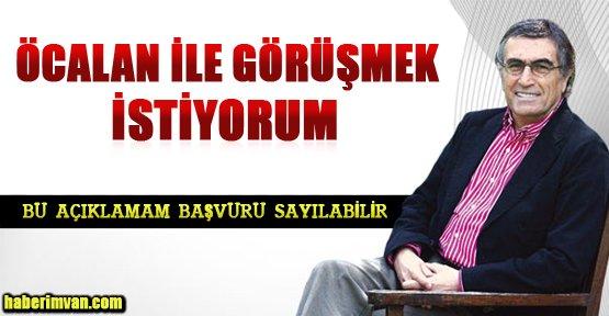 Hasan Cemal'dan Abdullah Öcalan'a Destek