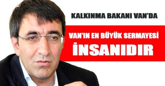 Kalkınma Bakanı Yılmaz Van'da - Van Haberleri
