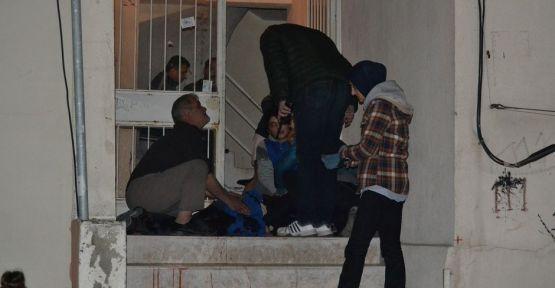 Kar Maskeli Saldırgan 1 Kişiyi Ağır Yaraladı