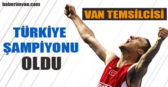 Kemal Koyuncu Türkiye Şampiyonu Oldu