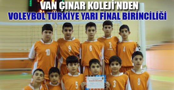 Küçük Erkekler Voleybol Türkiye Yarı Final Birinciliği