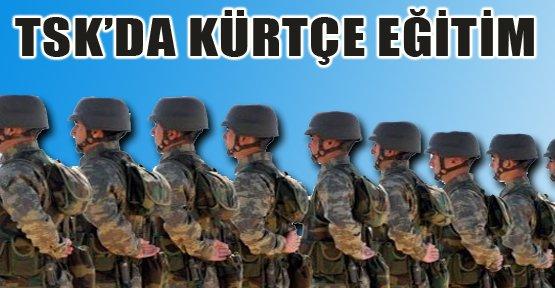 Kürtçe askeri okullarda