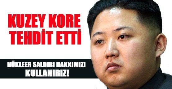 Kuzey Kore Tehdit Etti