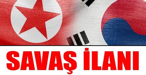Kuzey Kore'den Güney Kore'ye Savaş İlanı
