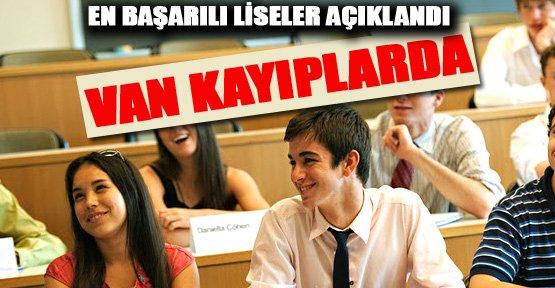 LYS'de Türkiye'nin en başarılı liseleri